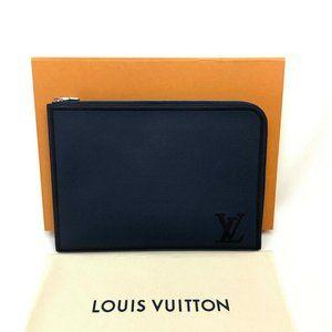 UNUSED LOUIS VUITTON Pochette Jules GM Clutch Bag